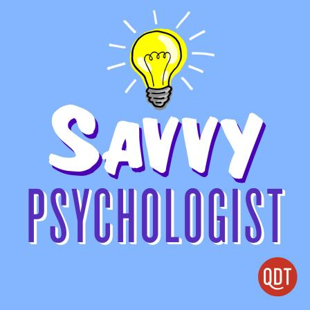 An image of the logo for Savvy Psychologist