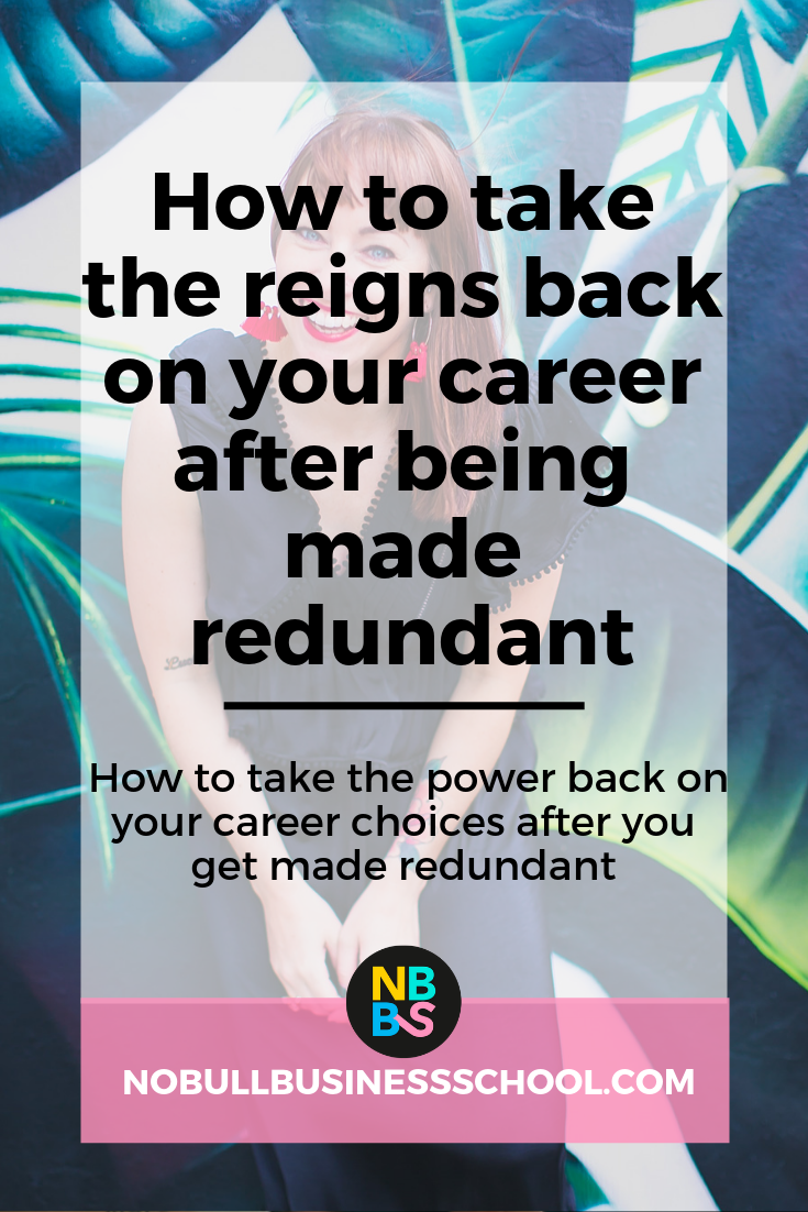 Pinterest Graphic for how to take the reigns back on your career blog post